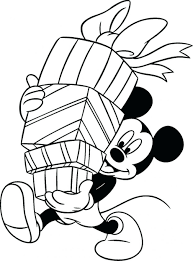 Coloring Pages Free Printable Minnie Mouse Birthday Mickey And Pdf Large Size