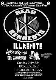 Dead Kennedys Halloween by Dead Kennedys U2013 805 Summer Slam Fest U2013 Tickets U2013 Borderline Bar
