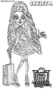 Monster High Skelita Calaveras With Suitcase