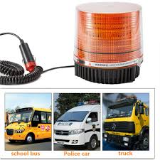 100 Strobe Light For Trucks 1224V LED Car Roof Emergency Hazard Warning Vehicle Police
