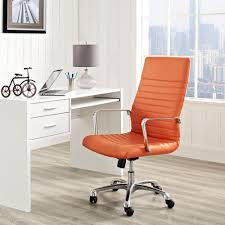 MODWAY Finesse Highback Office Chair In Orange EEI-1061-ORA - The ... Merax Orange High Back Gaming Chair With Lumbar Support And Headrest Cougar Armor S Luxury Breathable Premium Pvc Leather Bodyembracing Design Mid Century Modern Highback Lounge Revive Modern In Highback Swivel Black With Racing Style Ergonomic Office Desk By Morndepo Xl Executive Ribbed Pu Computer Gothic Inspired Velvet Throne Task Global Ding Chairs Upholstered Angelic Vini Furntech Gromalla Mesh Akracing Nitro Robus High Back From Stylex Architonic Video Bucket Seat Footrest Padding