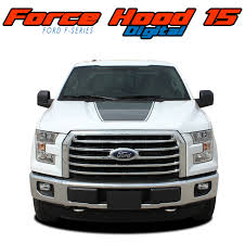 100 Ford Truck Decals F150 Hood Vinyl Graphic Decal FORCE HOOD DIGITAL 20152019