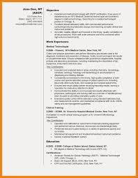 Resume Sample For Medical Laboratory Technologist Fresh Dental Lab Technician Example