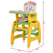 Costzon Baby High Chair, 3 In 1 Convertible Play Table Set, Booster Rocking  Seat With Removable Feeding... Toddler High Chairtable Set 2 In 1 Baby Wooden Feeding High Chair And Similar Items Good Quality Ding Room Sets Best Fniture Table Set Of 6 Mid Costzon 3 Convertible Play Booster Rocking Seat With Removable Retro Small Montero Four And Clearance Gloss Labe With X2 Chairs Brand New Kids Children Blue Boys Girls Huddersfield West Yorkshire Gumtree Bistro Rental For Kitchen Asda Infant 4 Snacker Solid Detachable Highchair Adjustable Tray 3position