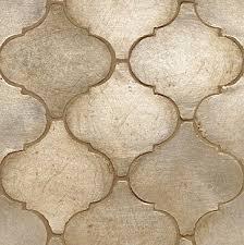 contessa tile arabesco silver leaf field contemporary kitchen