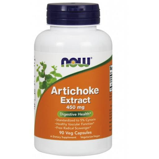 Now Foods Artichoke Extract - 450mg, 90 Vegetable Capsules