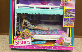 barbie sister stacie chelsea skipper sleeptime bedroom bunkbed