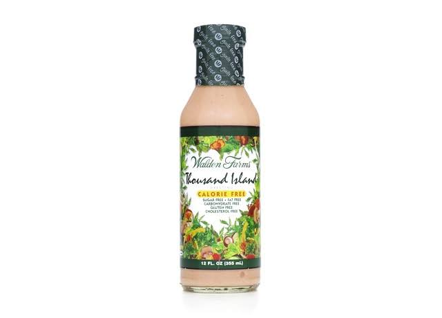 Walden Farms Near Zero Dressing - Thousand Island, 12oz