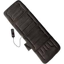 Massage Pads For Chairs Australia by Relaxzen 10 Motor Massage Mat Walmart Com