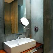 wall ideas magnifying wall mirror wall mount magnifying mirror