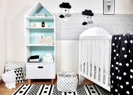 chambre enfant soldes déco chambre bébé en noir et blanc deco clem atc