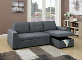 Sectional Sofa Bed With Storage Ikea by Living Room Convertible Sectional Sofa Blue Gray By Poundex With