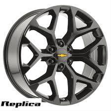22 Inch Chevy Silverado 1500 Snowflake Wheels 22x9