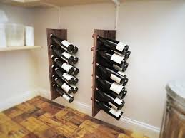 Quick Easy Inexpensive Diy Wine Racks Dining Room Ideas Storage
