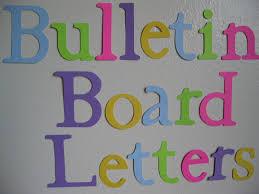 Die Cut Letters Bulletin Board Letters 30 40 Letters