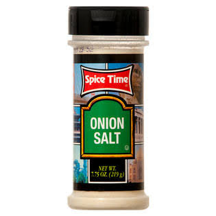 Spice Time Onion Salt - 7.75oz