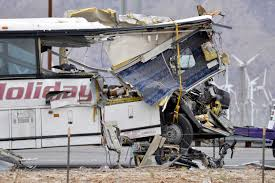 100 Fedex Truck Wreck At Least 13 Killed In Tour Bus Crash In Palm Springs CBS News