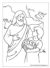 Bread Of Life Coloring Pages