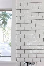 4x12 Subway Tile Spacing by Kitchen Chronicles A Diy Subway Tile Backsplash Part 1 Jenna
