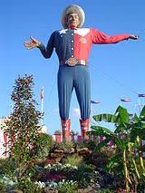 Big Tex Mascot Of The Fair Since 1952