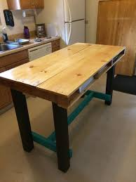 Gallery Of Pallet Kitchen Table