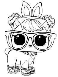 LOL Surprise Pets Coloring Pages Hop