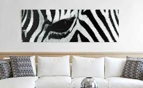 zebra leinwand kaufen bilderwelten