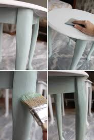 Americana Decor Chalky Finish Paint Colors by Table Makeover With Chalky Finish Paint From Americana My