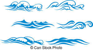 Abstract waves Clip Artby olgaaltunina79 11 156 Wave symbols set for design isolated on white background