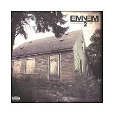 Eminem Curtains Up Skit Download by Eminem The Marshall Mathers Lp 2 Cd Cover Art Producers