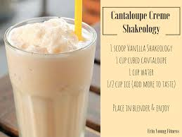 Cantaloupe Creme Shakeology Heres What Youll Need 1 Scoop Vanilla Cup