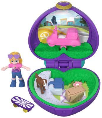 Polly Pocket Tiny Places Picnic Compact Play Set