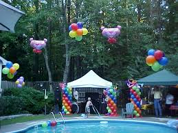 Image Of Pool Party Ideas For 13 Year Olds