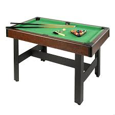 Dining Room Pool Table Combo by Amazon Com Voit Billiards Pool Table With Accessories 48 Inch