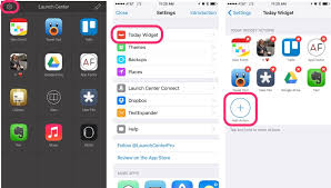 to create shortcuts on iPhone with Launch Center Pro