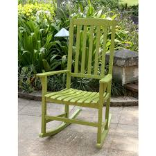 Cambridge-Casual AMZ-130818G Bentley Porch Rocking Chair, Rocker, Green