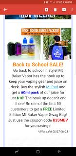 Mt Baker Vapor Bad Promo. : Electronic_cigarette Vista Vapors Coupon Code And 2015 Review Vaporbeast Discount Updated For 2019 Dreamworld Coupons Code 2018 Coupons Oggis Pizza Wow Works For Vancaro Black Flower Engagement Ring Lightning Vapes Save 15 Off Entire Site How To Prime And Break In Coils Mig Vaping Blog Direct Vapor Vendor Vapercitycom 40 Off Good Life Promo Discount Codes Wethriftcom Affordable Mt Baker Vapor Coupon Botastimberlandtop 10 On All Producs July Nicotine E Liquid Buying Guide Find Best Vape Juice Shipped To