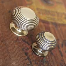 Cabinet Knob Backplate Antique Brass by Brass Beehive Cabinet Knob