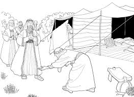 Abraham And The Three Heavenly Visitors