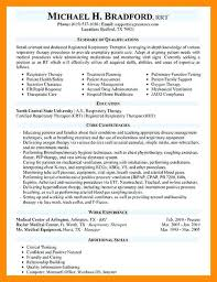Respiratory Therapist Resume Sample Objective Examples