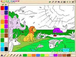 Download Free BiblePaint Coloring Book