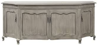 casa padrino luxury country style sideboard gray 205 x 53 x h 81 cm handmade solid wood cabinet with 4 doors country style furniture luxury