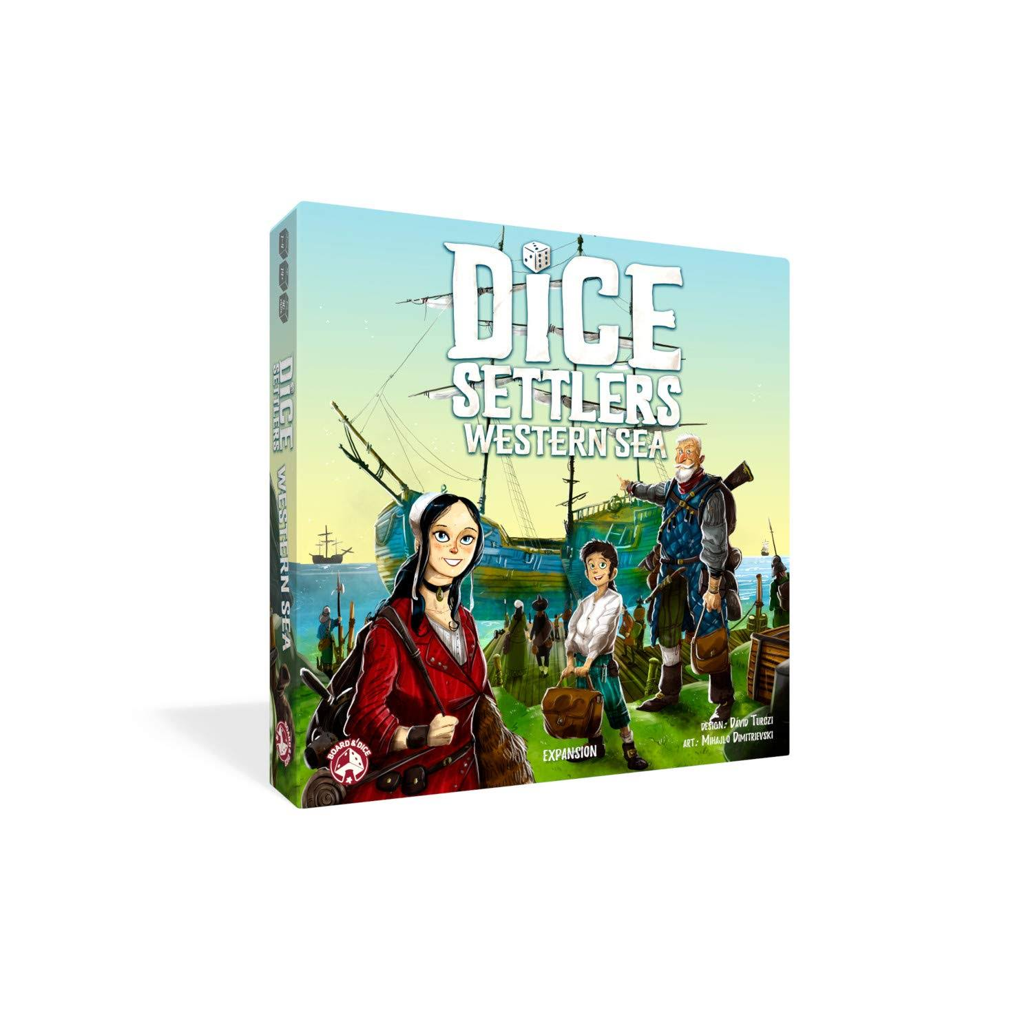 Dice Settlers: Sea Western Expansion