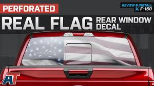 1997-2018 F150 American Muscle Graphics Perforated Real Flag Rear ... How To Install American Flag Truck Back Window Decal Sticker Truck Rear Window Black White Distressed Vinyl Design Your Own Rear Graphics Arts Window Graphic Vehicle Decals Compare Prices At Nextag Toyota Tacoma 2016 Importequipment Tropical Paradise Wrap Tailgate Kit Ebay New York Jets 35 X 4 Windshield Decal Car Nfl Custom Logo Maker Many Is Too True North Show Off Stickers Page 50 Ford F150 Forum Your Rear Stickerdecal 2015present Trucks 5 Funny Cummins Trucks