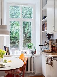 White But Still Warm Scandinavian Kitchen