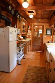 Rustic Log Cabin Kitchen Ideas by Rustic Cabin Decorating Ideas Warm Home Design