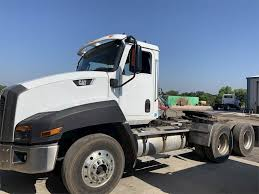 100 Day Cab Trucks For Sale 2013 Caterpillar CT660S Tandem Axle Truck