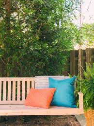 How To Install A Porch Swing | How-tos | DIY 9 Free Wooden Swing Set Plans To Diy Today Porch Swings Fire Pit Circle Patio Backyard Discovery Weston Cedar Walmartcom Amazing Designs Ideas Shop Gliders At Lowescom Chairs The Home Depot Diy Outdoor 2 Person Canopy Best 25 Swings Ideas On Pinterest Sets Diy Garden Enchanting Element In Your Big Backyard Swing For Great Times With Lowes Tucson Playsets