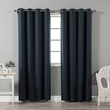 Blackout Curtain Liner Amazon by Amazon Com Best Home Fashion Thermal Insulated Blackout Curtains