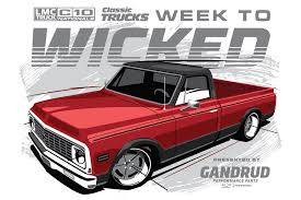 100 Chevy Truck Performance Parts Classic S Week To Wicked C10 Build Begins 10818 Hot